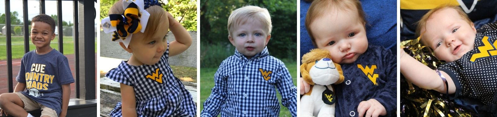 Toddler & Infant WVU Clothing & Accessories
